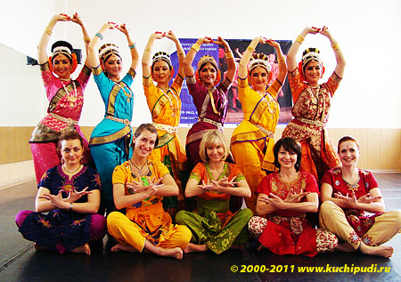 A Russian Studio of Indian classical dance ANANDA TANDAVA